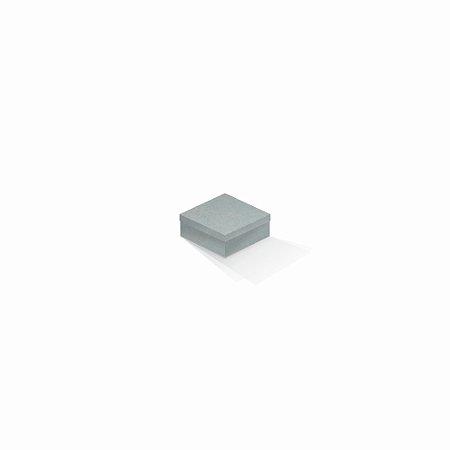 Caixa de presente   Quadrada Color Plus Milano 7,0x7,0x3,5