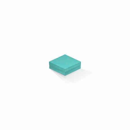 Caixa de presente | Quadrada Color Plus Aruba 8,5x8,5x3,5