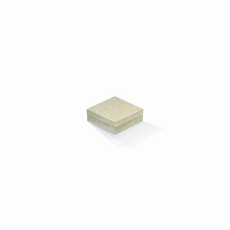 Caixa de presente | Quadrada Color Plus Metálico Majorca 8,5x8,5x3,5