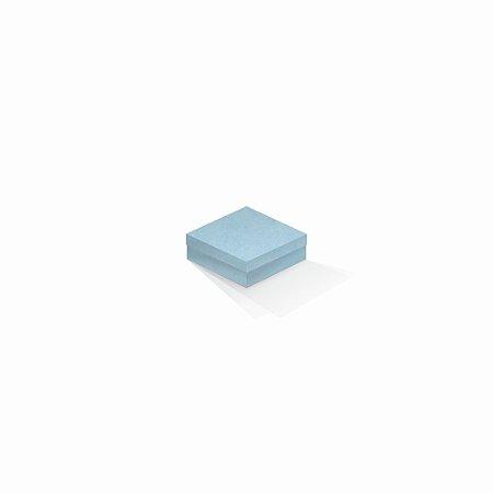 Caixa de presente   Quadrada Color Plus Santorini 8,5x8,5x3,5