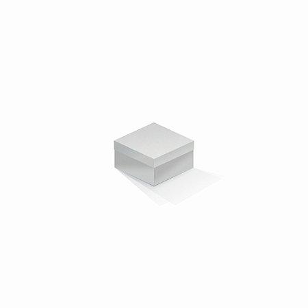 Caixa de presente | Quadrada Color Plus Alaska 9,0x9,0x6,0