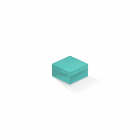 Caixa de presente | Quadrada Color Plus Aruba 9,0x9,0x6,0