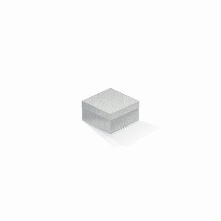 Caixa de presente | Quadrada Color Plus Metálico Aspen 9,0x9,0x6,0