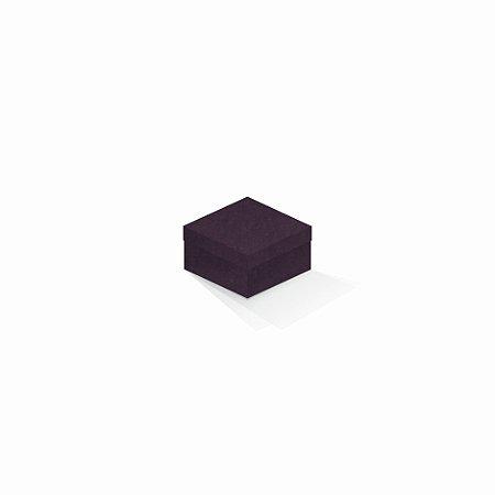 Caixa de presente   Quadrada Color Plus Mendoza 9,0x9,0x6,0