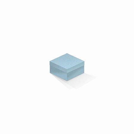 Caixa de presente   Quadrada Color Plus Santorini 9,0x9,0x6,0