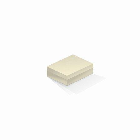 Caixa de presente | Retângulo Color Plus Marfim 10,0x13,0x3,5