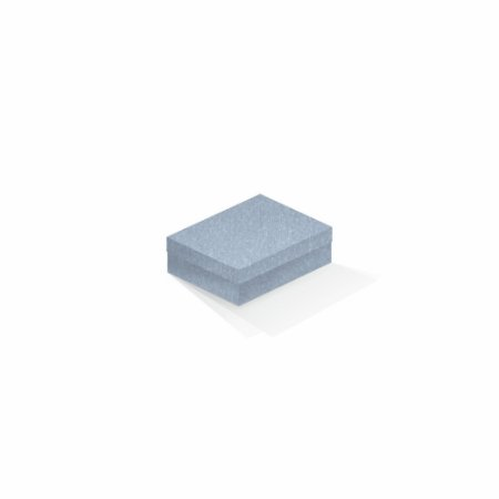 Caixa de presente | Retângulo Color Plus Metálico Mar Del Plata 10,0x13,0x3,5