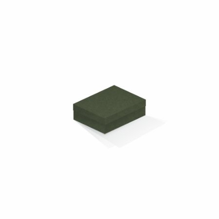 Caixa de presente   Retângulo F Card Scuro Verde 10,0x13,0x3,5