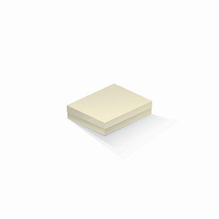 Caixa de presente | Retângulo Color Plus Marfim 12,0x15,0x4,0