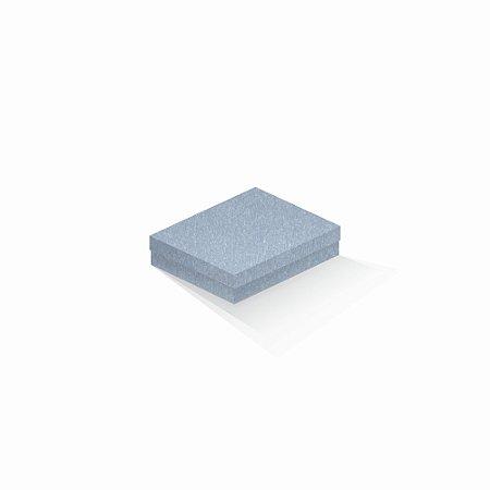 Caixa de presente   Retângulo Color Plus Metálico Mar Del Plata 12,0x15,0x4,0