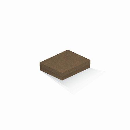 Caixa de presente   Retângulo F Card Scuro Marrom 12,0x15,0x4,0