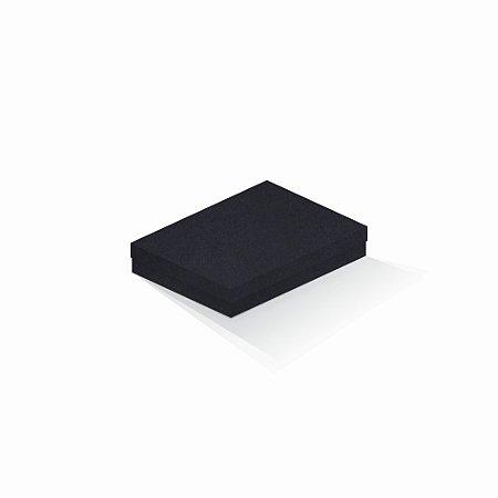 Caixa de presente | Retângulo F Card Scuro Preto 14,0x19,0x4,0