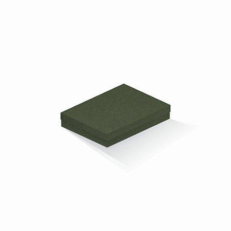 Caixa de presente   Retângulo F Card Scuro Verde 14,0x19,0x4,0