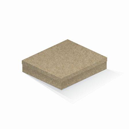 Caixa de presente   Retângulo Kraft 21,7x27,7x5,0