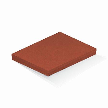 Caixa de presente   Retângulo F Card Scuro Laranja 23,5x31,5x3,5