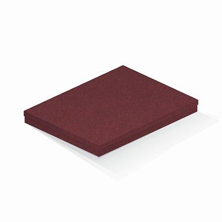 Caixa de presente | Retângulo F Card Scuro Vermelho 23,5x31,5x3,5