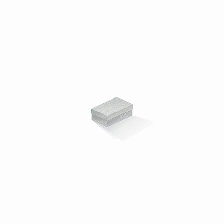 Caixa de presente | Retângulo Color Plus Metálico Aspen 5,0x8,0x3,5