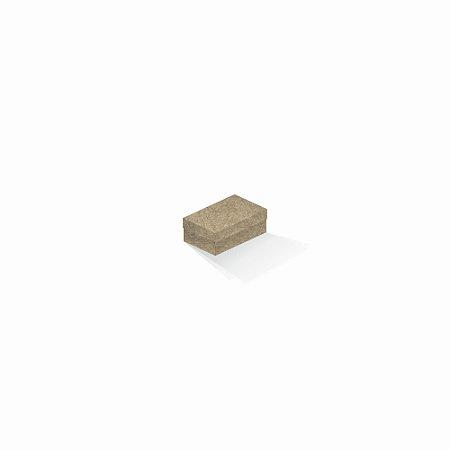 Caixa de presente | Retângulo Kraft 5,0x8,0x3,5