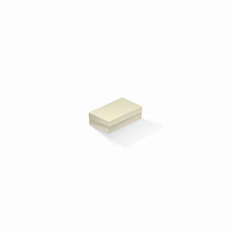 Caixa de presente | Retângulo Color Plus Marfim 6,0x10,0x3,5
