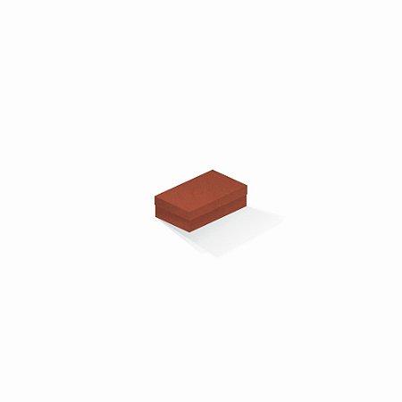 Caixa de presente | Retângulo F Card Scuro Laranja 6,0x10,0x3,5