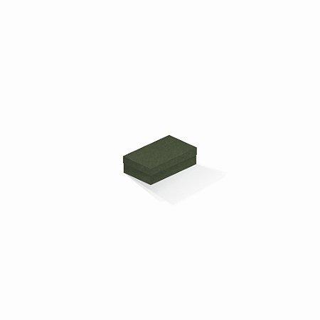 Caixa de presente | Retângulo F Card Scuro Verde 6,0x10,0x3,5