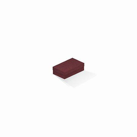 Caixa de presente   Retângulo F Card Scuro Vermelho 6,0x10,0x3,5