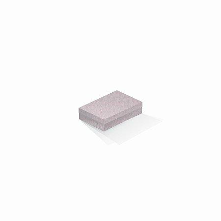 Caixa de presente   Retângulo Color Plus Metálico Ibiza 8,0x12,0x3,5