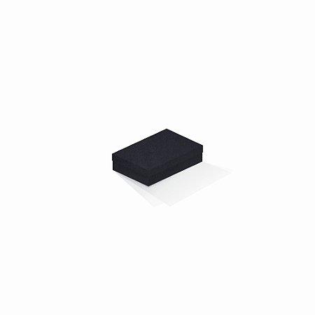 Caixa de presente | Retângulo F Card Scuro Preto 8,0x12,0x3,5