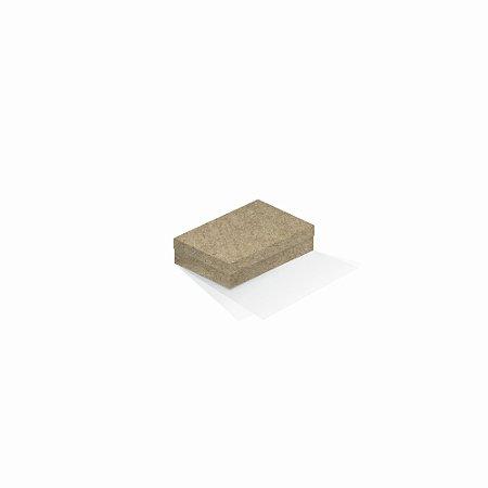 Caixa de presente | Retângulo Kraft 8,0x12,0x3,5