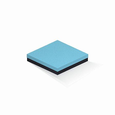 Caixa de presente | Quadrada F Card Azul-Preto 18,5x18,5x4,0