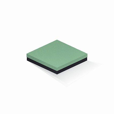 Caixa de presente   Quadrada F Card Verde-Preto 18,5x18,5x4,0