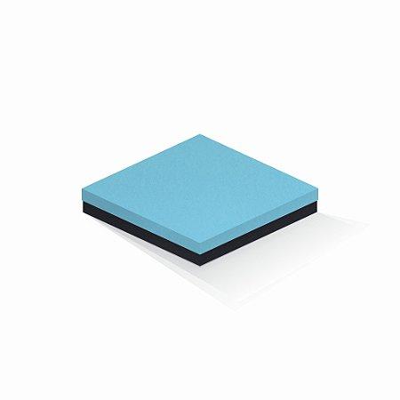 Caixa de presente | Quadrada F Card Azul-Preto 20,5x20,5x4,0