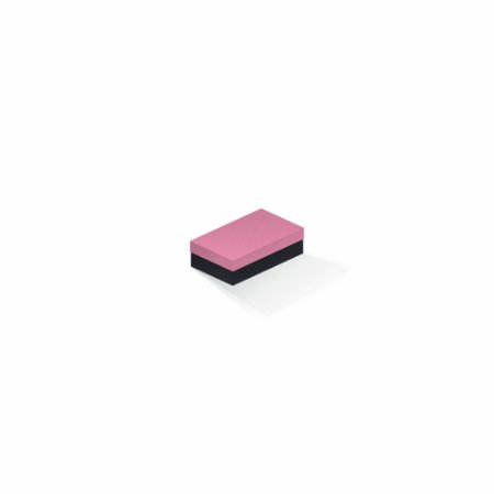 Caixa de presente | Retângulo F Card Rosa-Preto 6,0x10,0x3,5