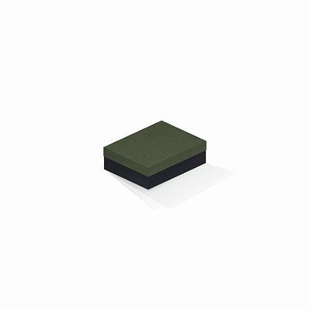 Caixa de presente   Retângulo F Card Scuro Verde-Preto 10,0x13,0x3,5
