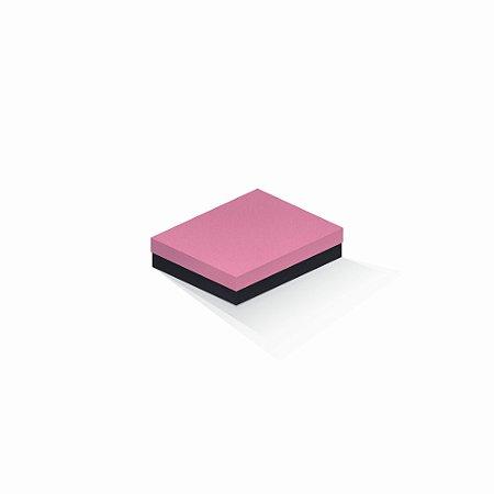Caixa de presente   Retângulo F Card Rosa-Preto 12,0x15,0x4,0