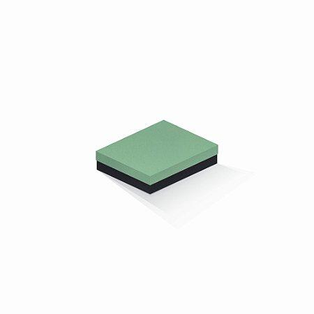 Caixa de presente   Retângulo F Card Verde-Preto 12,0x15,0x4,0
