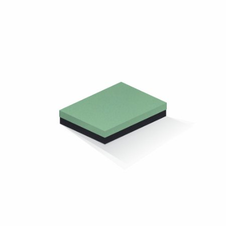 Caixa de presente | Retângulo F Card Verde-Preto 14,0x19,0x4,0