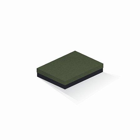 Caixa de presente | Retângulo F Card Scuro Verde-Preto 14,0x19,0x4,0