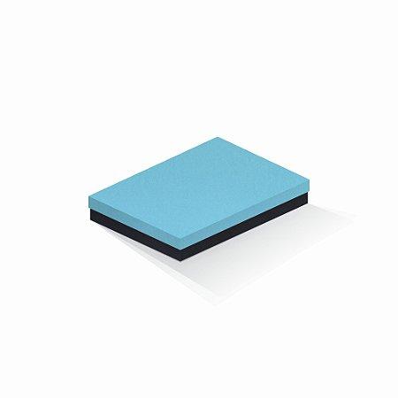 Caixa de presente | Retângulo F Card Azul-Preto 16,0x22,5x4,0