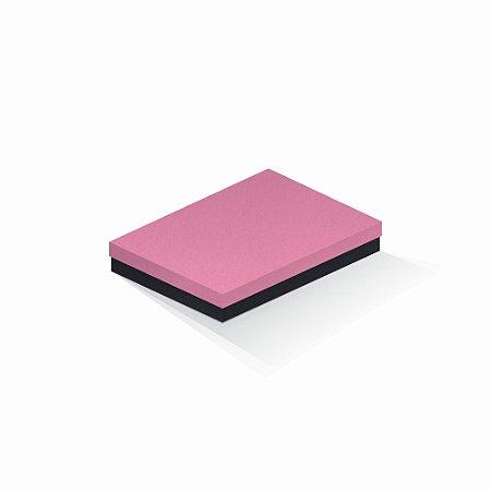 Caixa de presente | Retângulo F Card Rosa-Preto 16,0x22,5x4,0