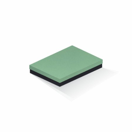 Caixa de presente | Retângulo F Card Verde-Preto 16,0x22,5x4,0