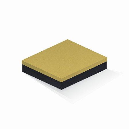 Caixa de presente | Retângulo F Card Ouro-Preto 21,5x27,5x5,0