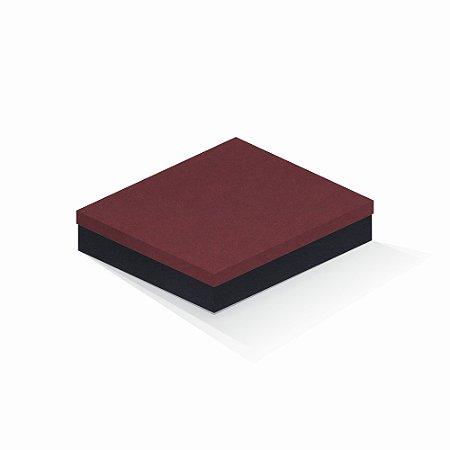 Caixa de presente | Retângulo F Card Scuro Vermelho-Preto 21,5x27,5x5,0
