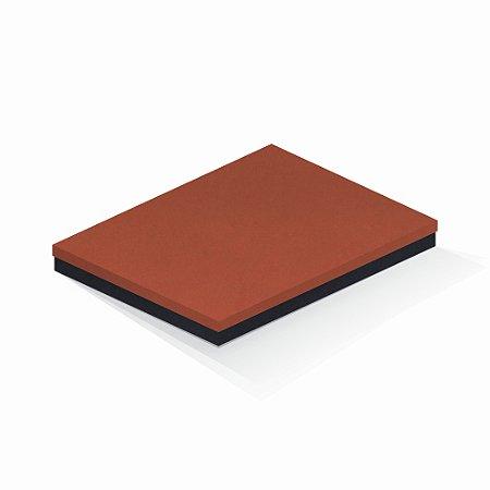 Caixa de presente | Retângulo F Card Scuro Laranja-Preto 23,5x31,5x3,5