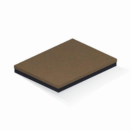 Caixa de presente | Retângulo F Card Scuro Marrom-Preto 23,5x31,5x3,5