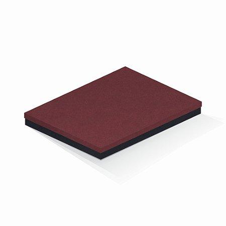 Caixa de presente | Retângulo F Card Scuro Vermelho-Preto 23,5x31,5x3,5