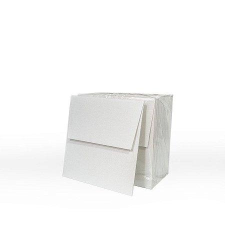 Lote 38 - Envelope Aba Reta 10,0x10,0 - 50 unid.