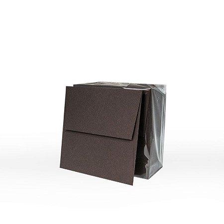 Lote 42 - Envelope Aba Reta 10,0x10,0 - 50 unid.
