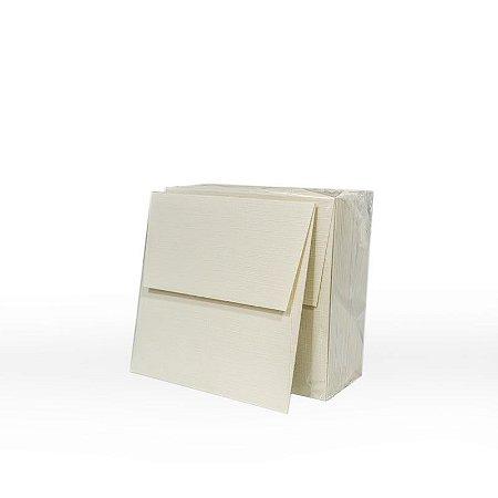Lote 43 - Envelope Aba Reta 10,0x10,0 - 50 unid.