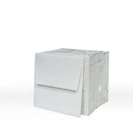 Lote 52 - Envelope Aba Reta 8,0x8,0 - 50 unid.